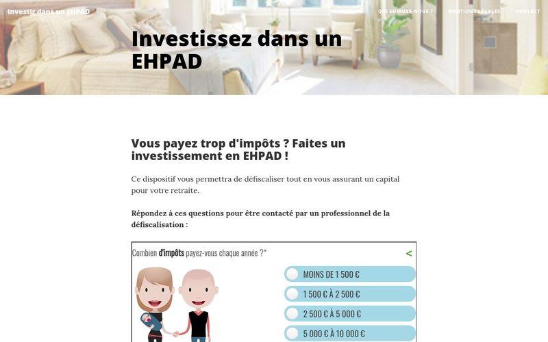 Soyez bien conseiller avant d'investir dans un EHPAD